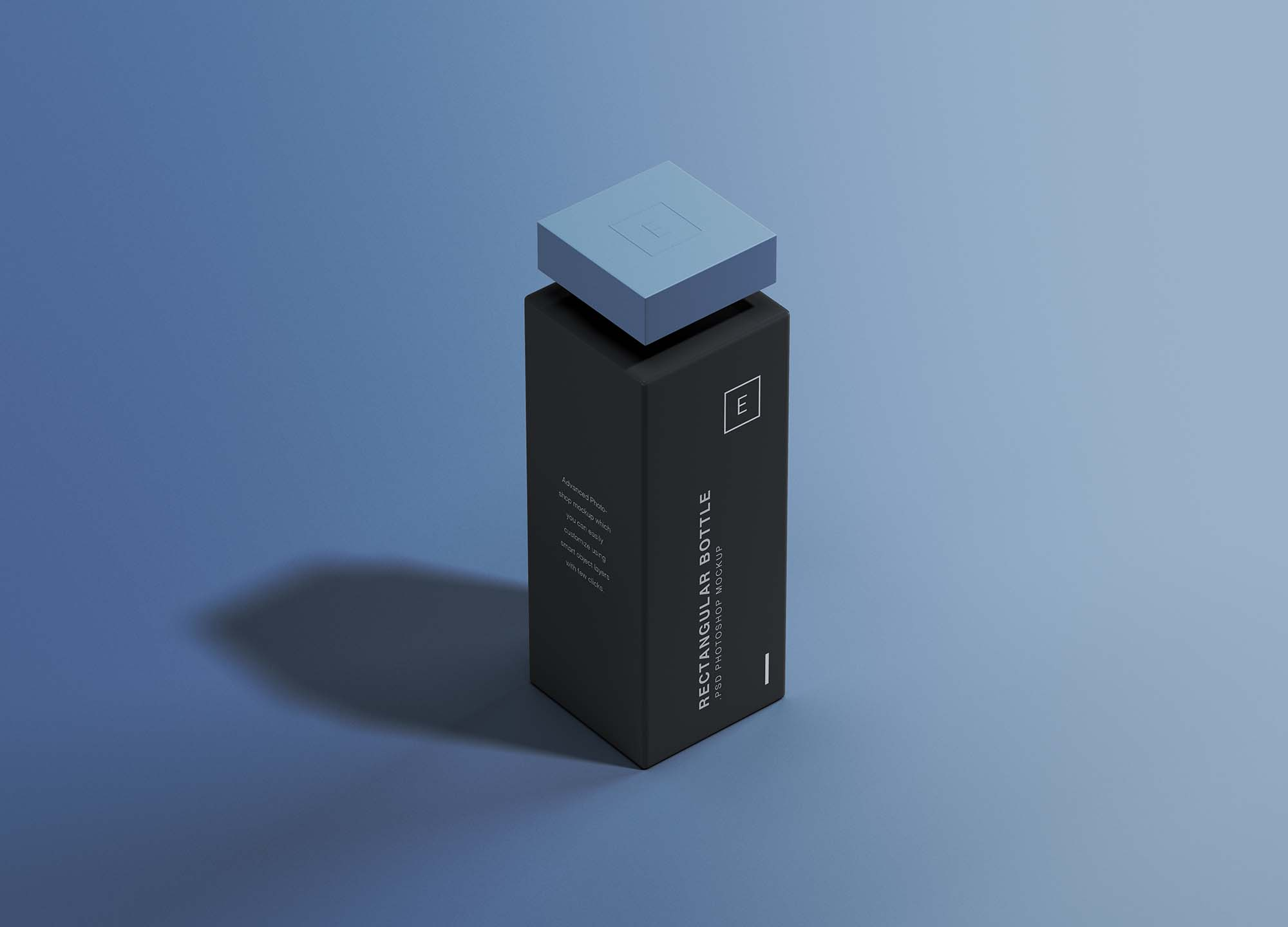 Rectangular Bottle Mockup 2