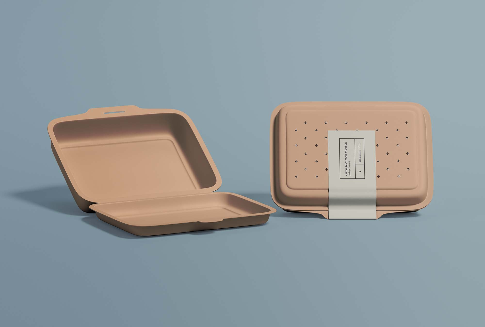 Restaurant Food Packaging Mockup 2