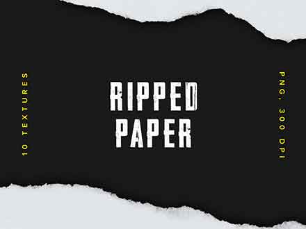 Ripped Paper Textures
