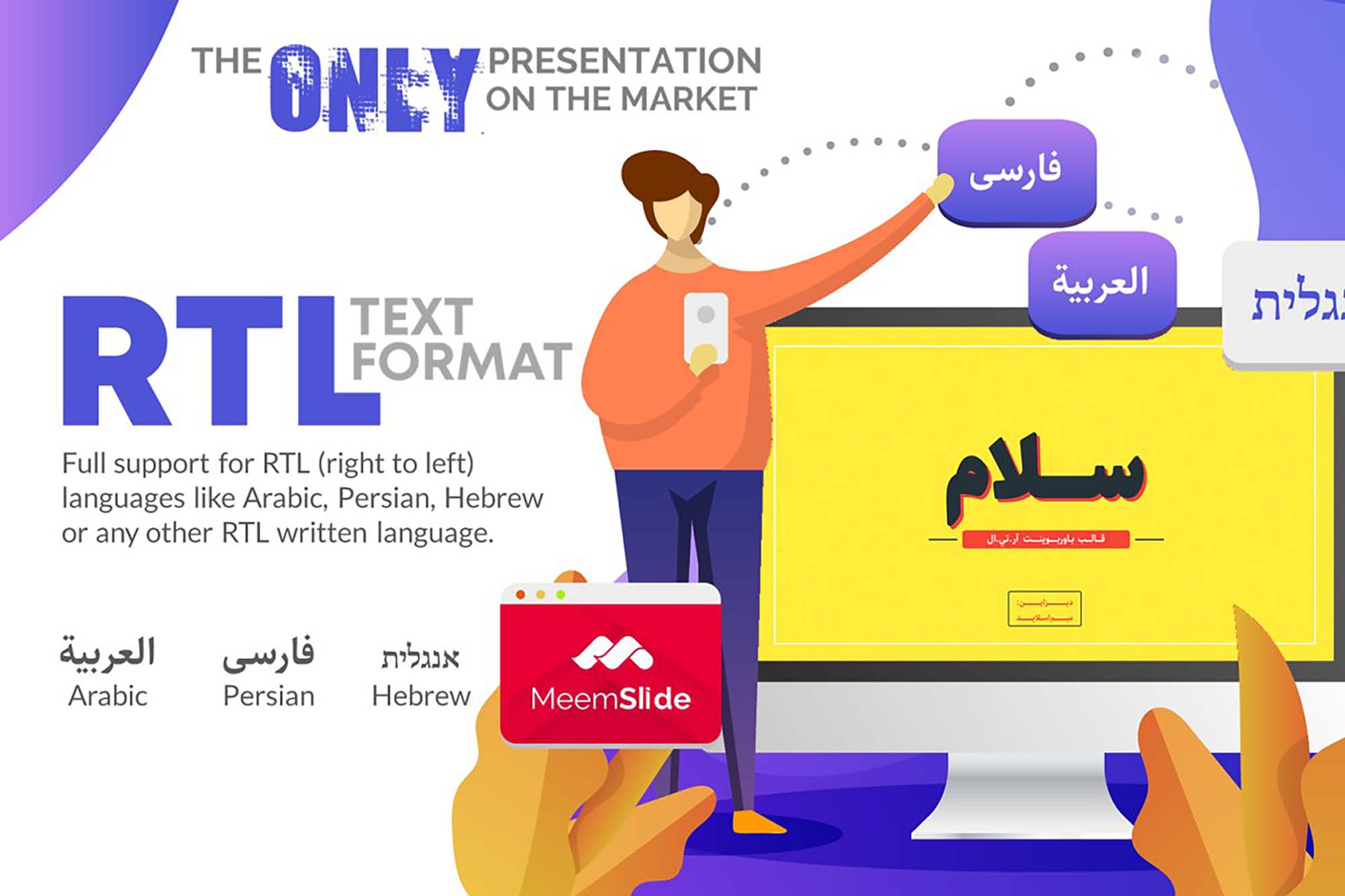 Salam RTL PowerPoint Template 1