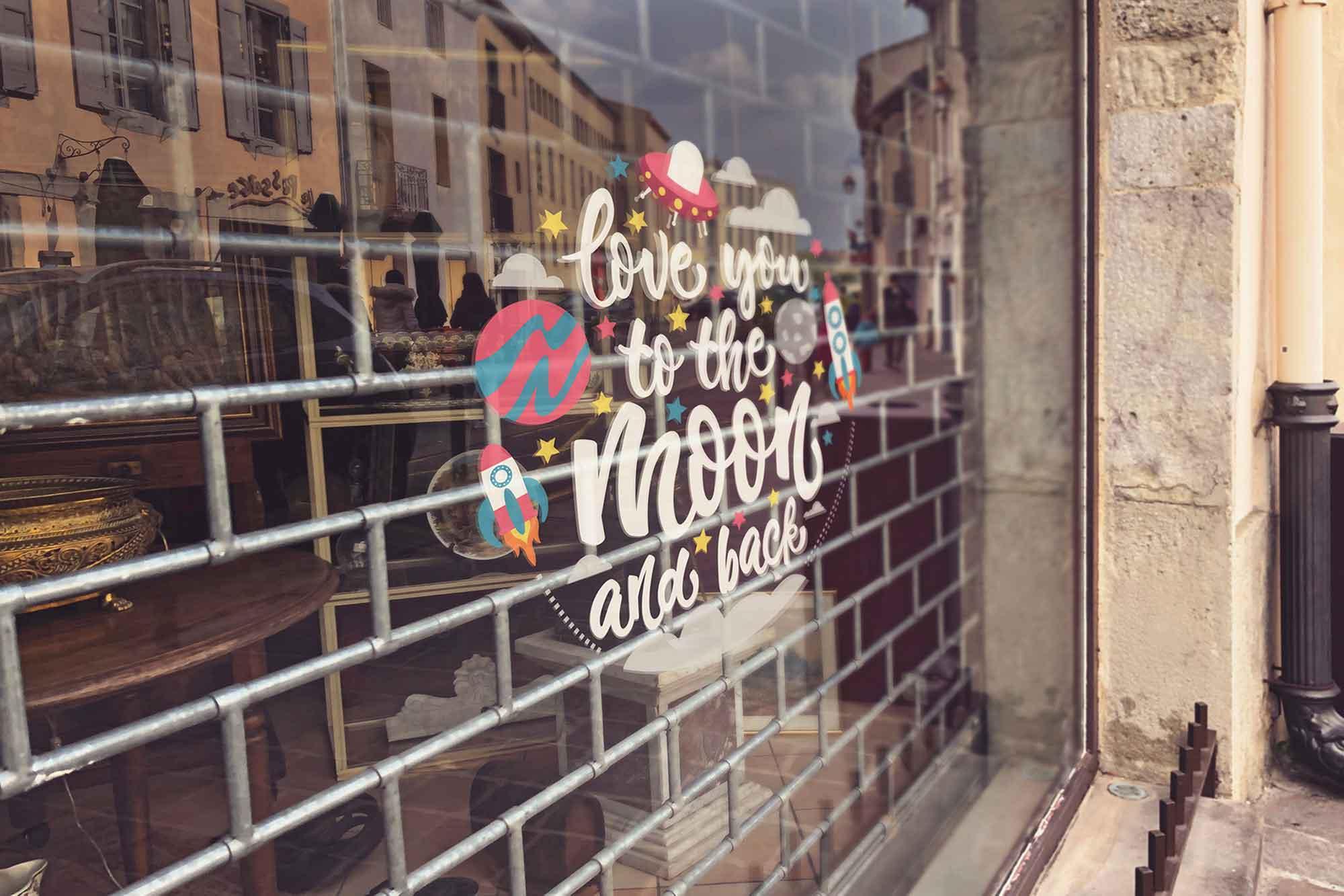 Shop Window Mockup 3