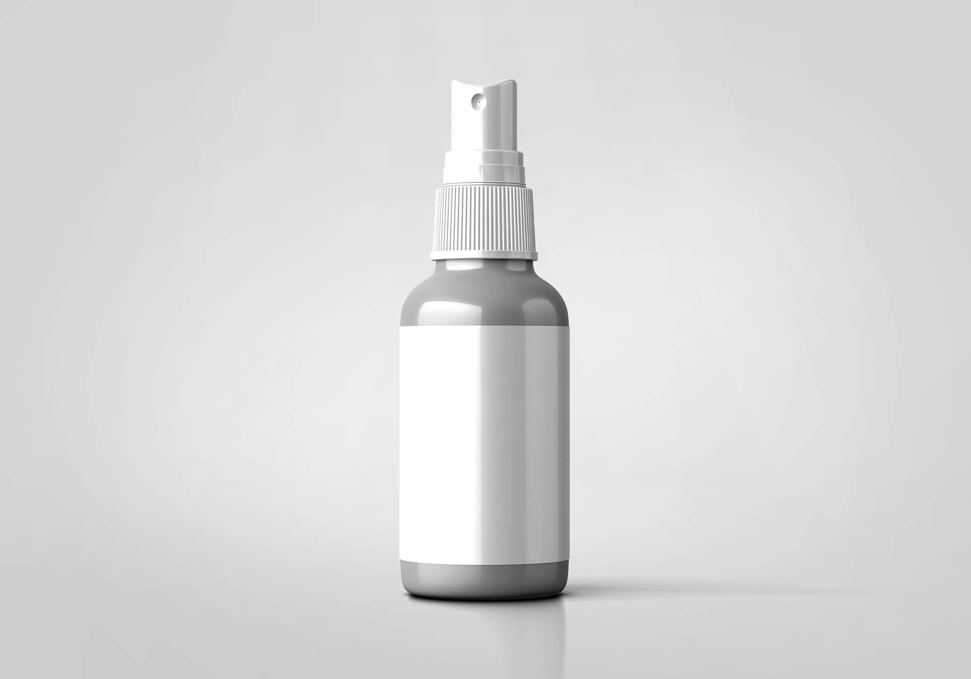 Skin Lotion Bottle Mockup 2