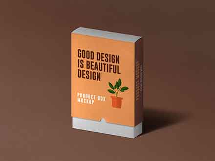 Slide Product Box Mockup
