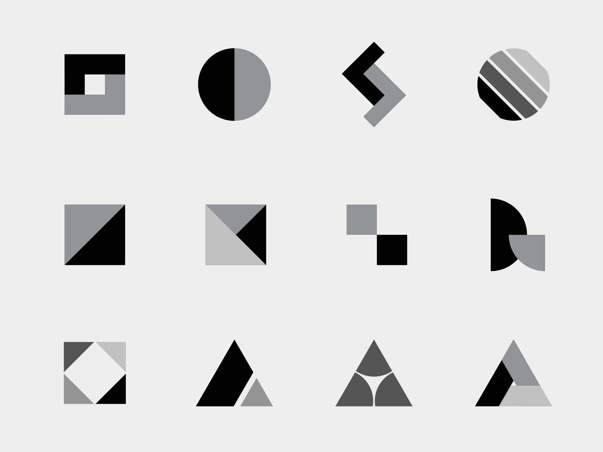 Vector Logo Shapes 2