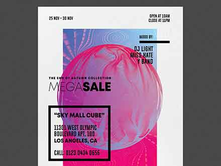 Weekend Sale Flyer Template