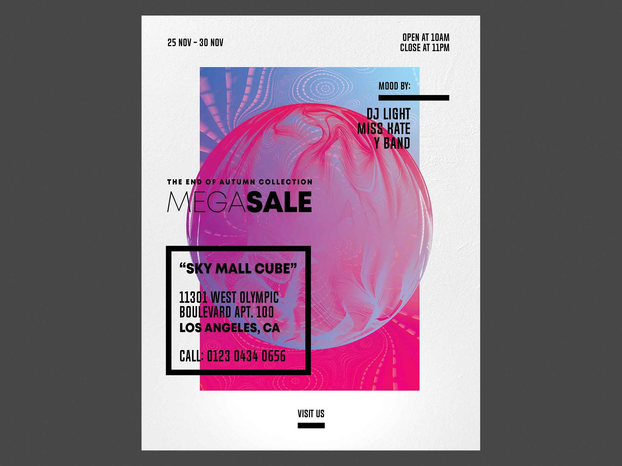 Weekend Sale Flyer Template