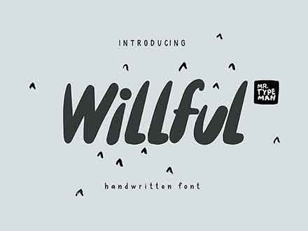 Willful Font