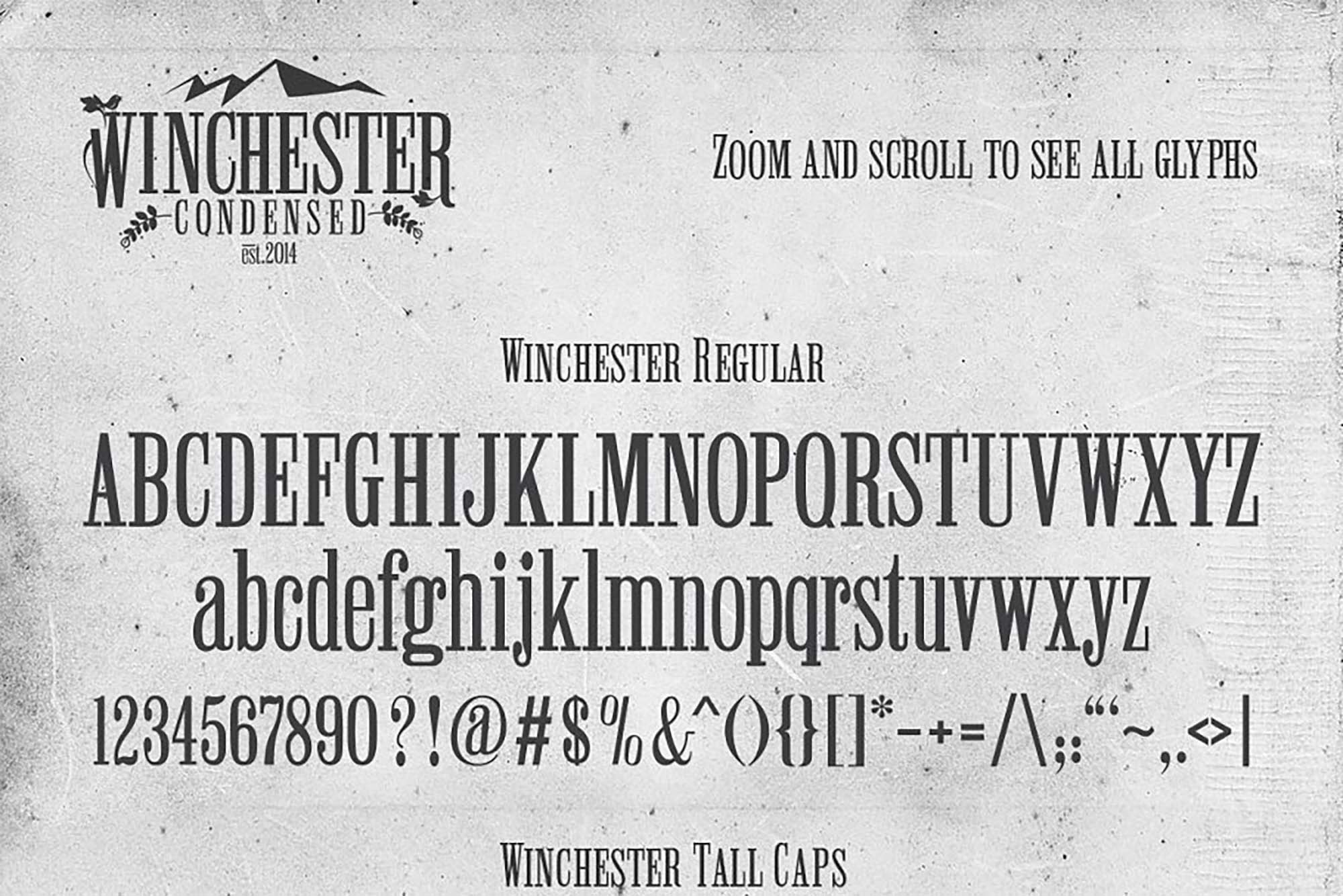 Winchester Font 2