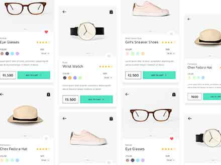 eCommerce Mobile App Template