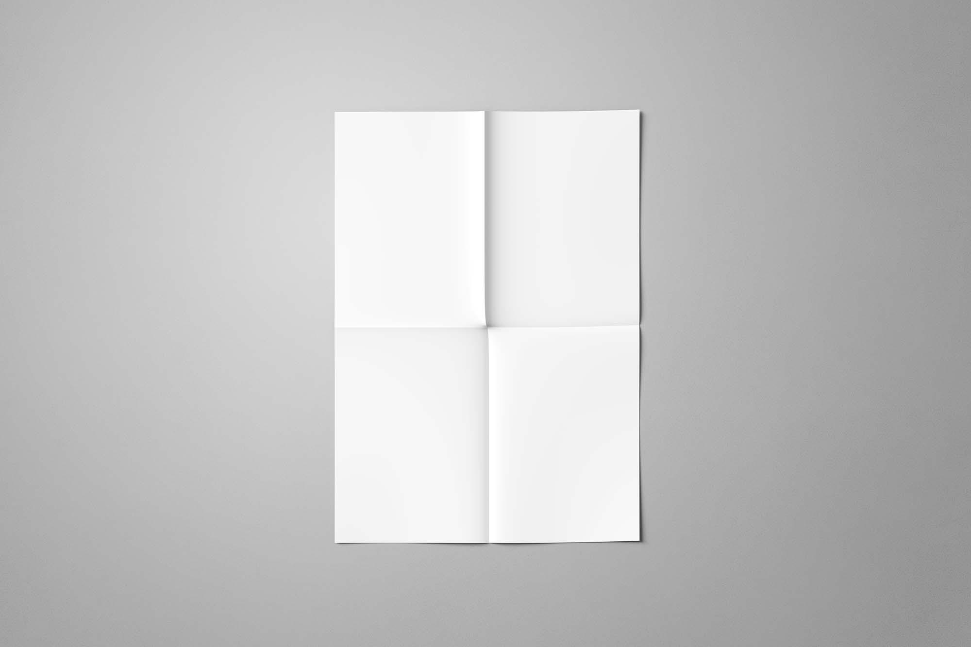A4 Paper Flyer Mockup 2