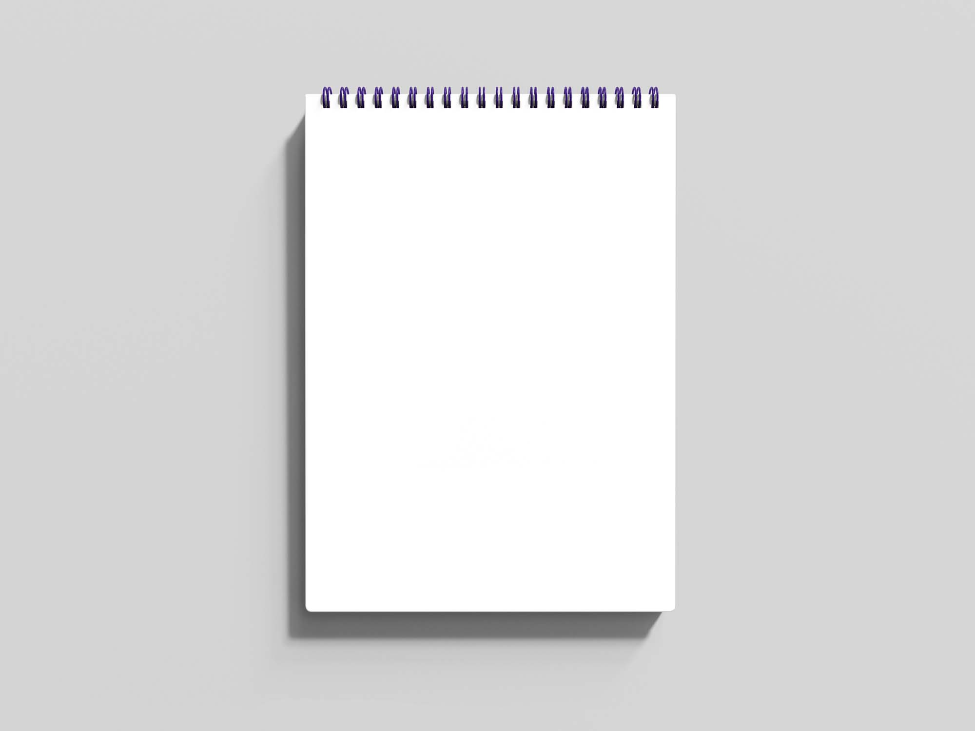 A5 Cover Notebook Mockup 2