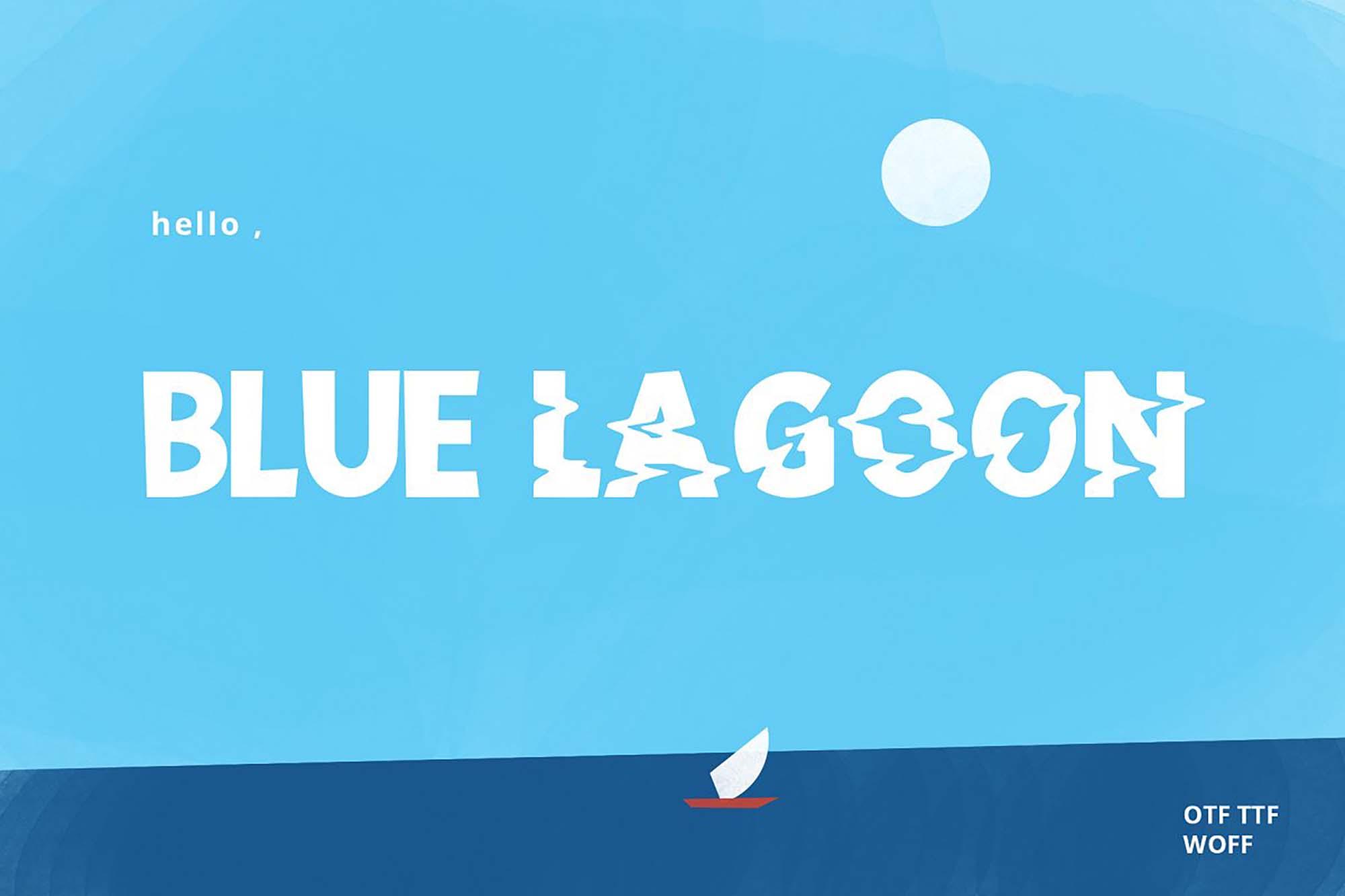 Blue Lagoon Font