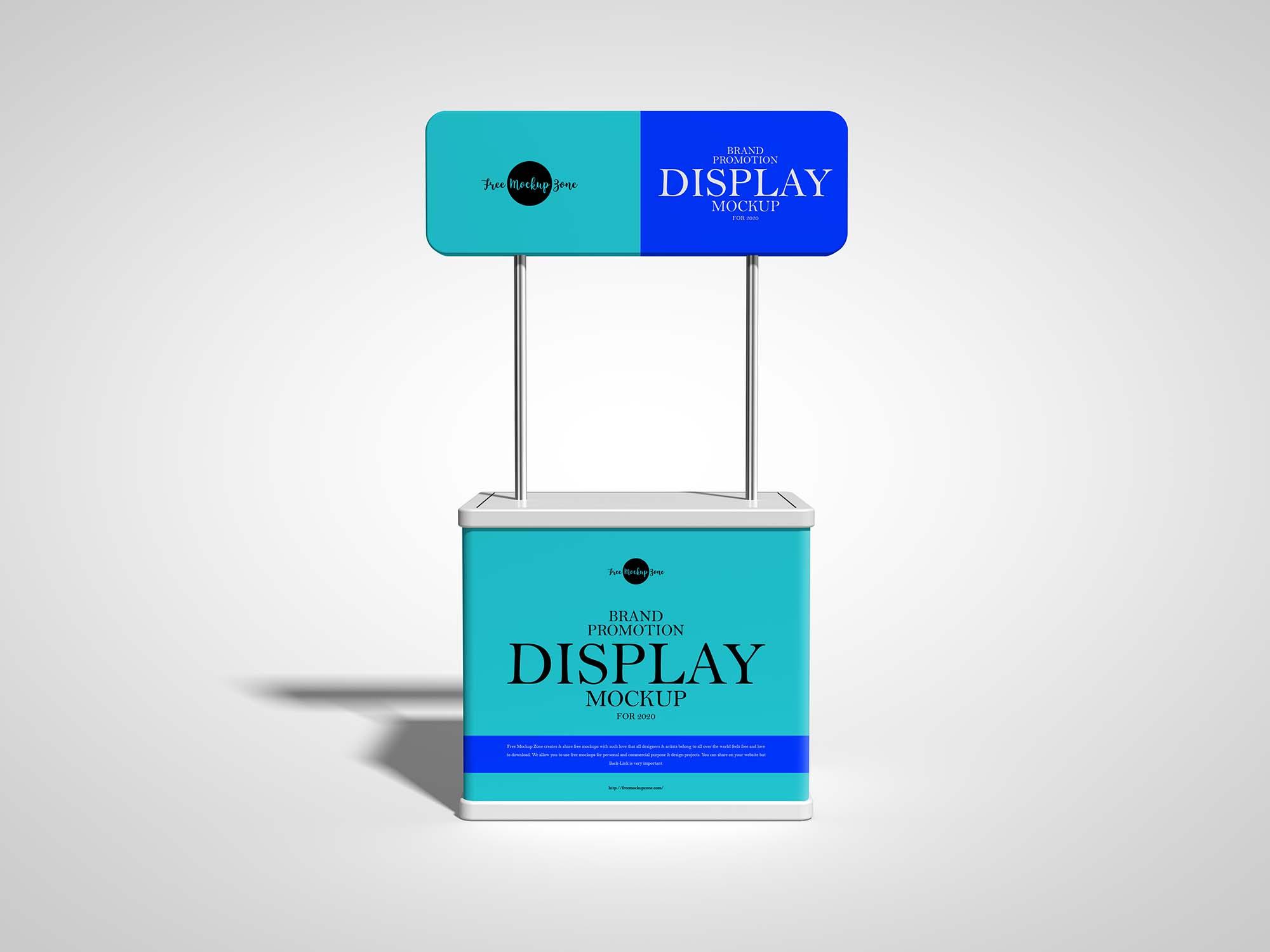 Brand Promotion Display Mockup 3