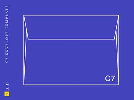 C7 Envelope Template