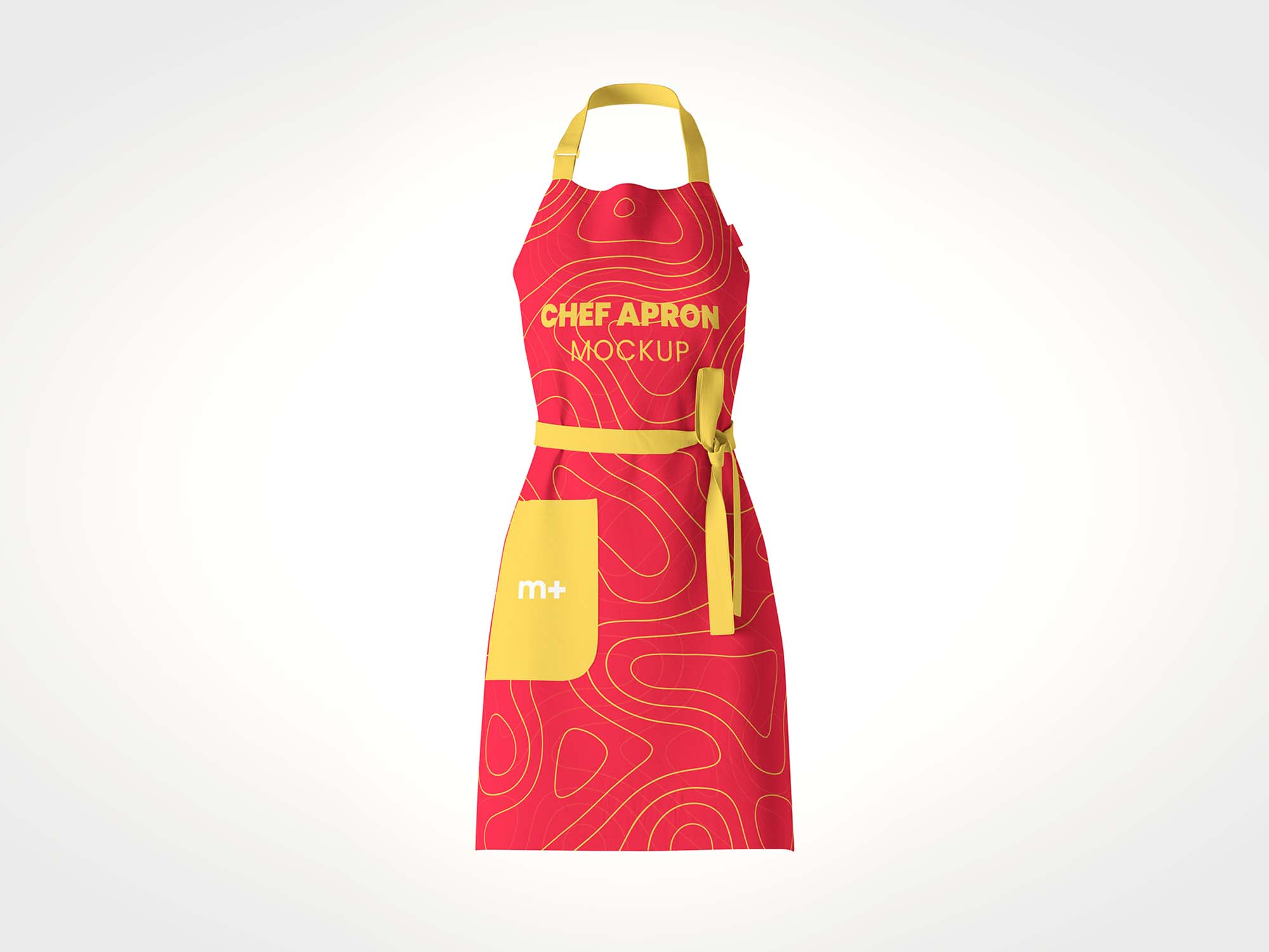 Chef Kitchen Apron Mockup 2