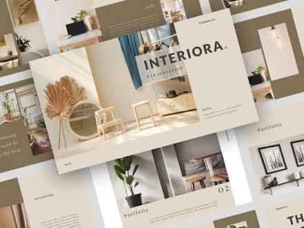 Interiora PowerPoint Presentation Template