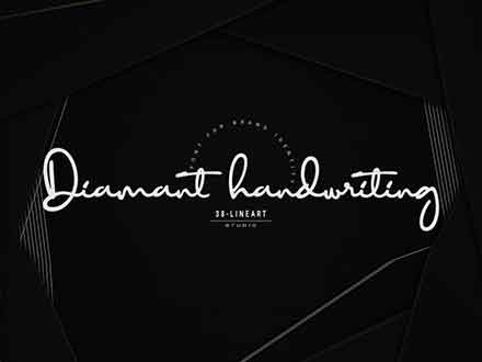 Diamant Handwriting Font