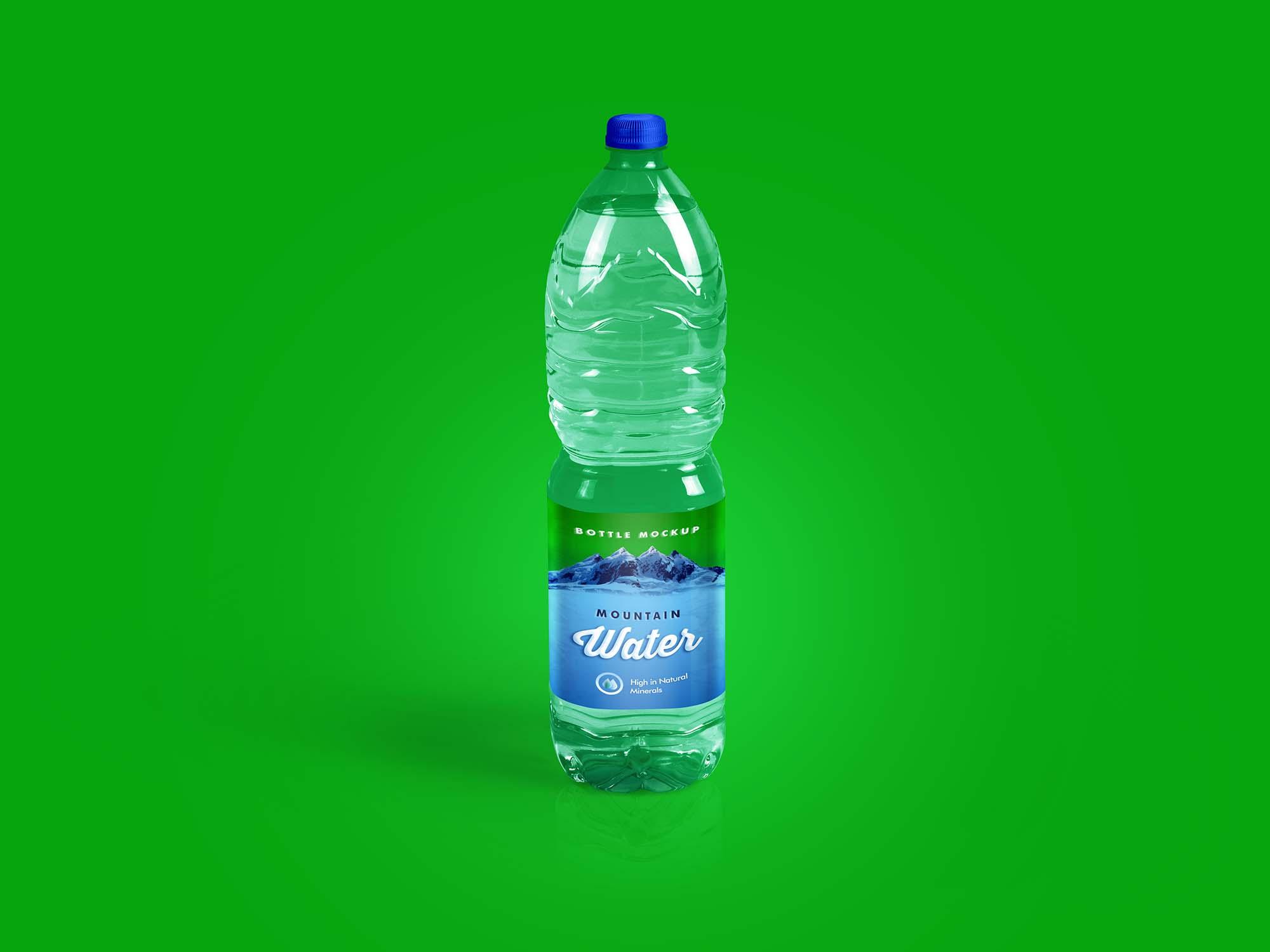 Drinking Water Bottle Mockup 2