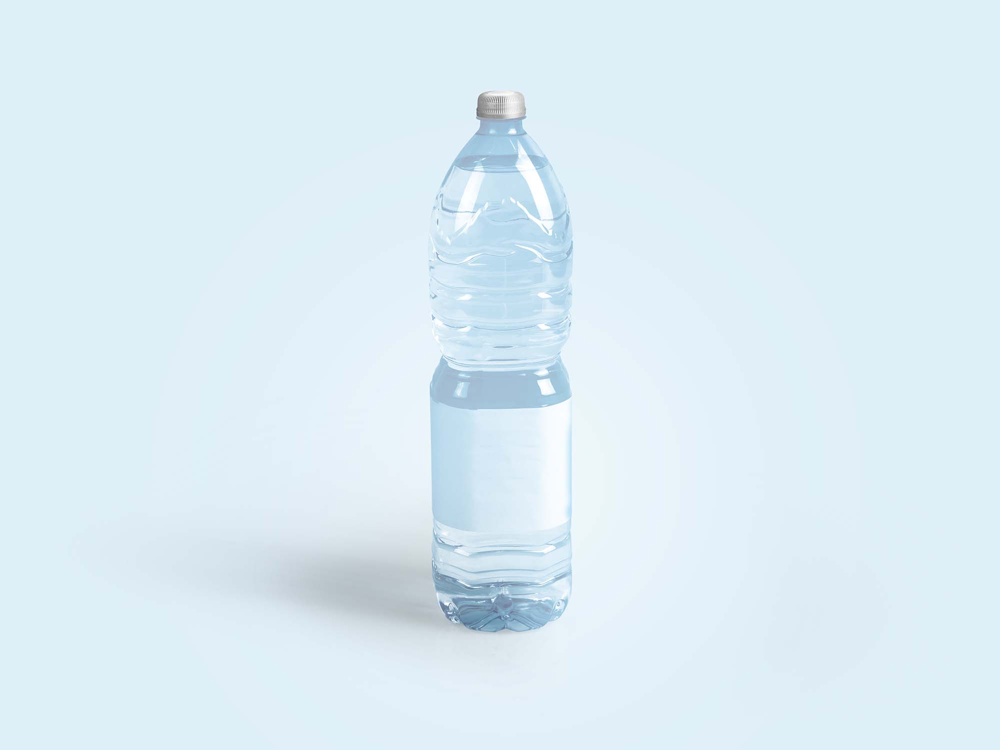Drinking Water Bottle Mockup 3
