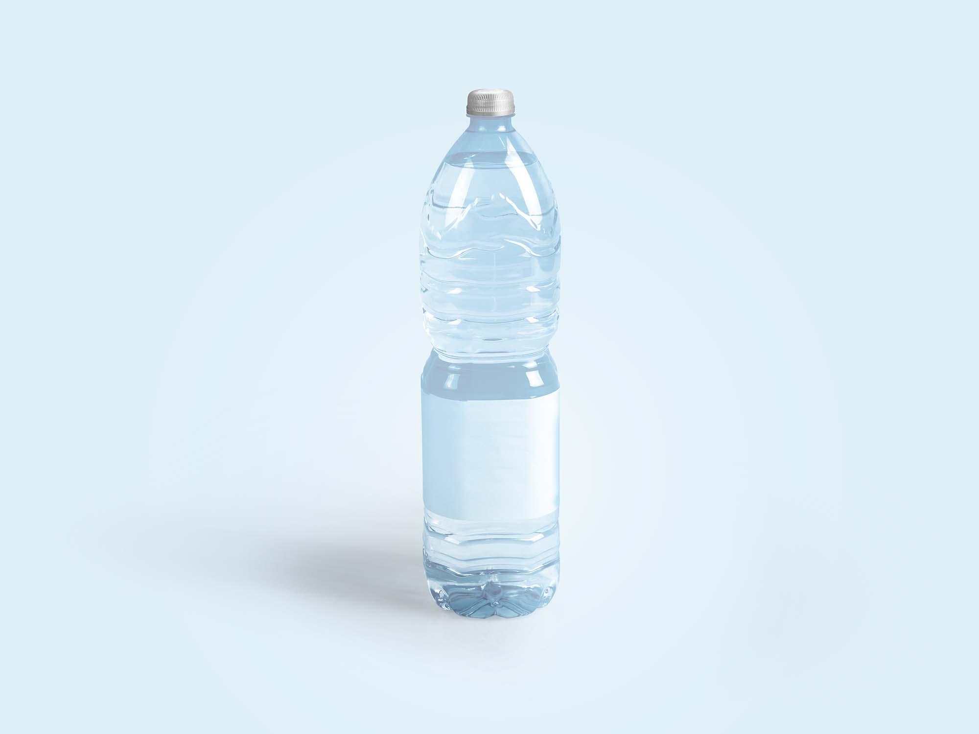 Drinking Water Bottle Mockup 3