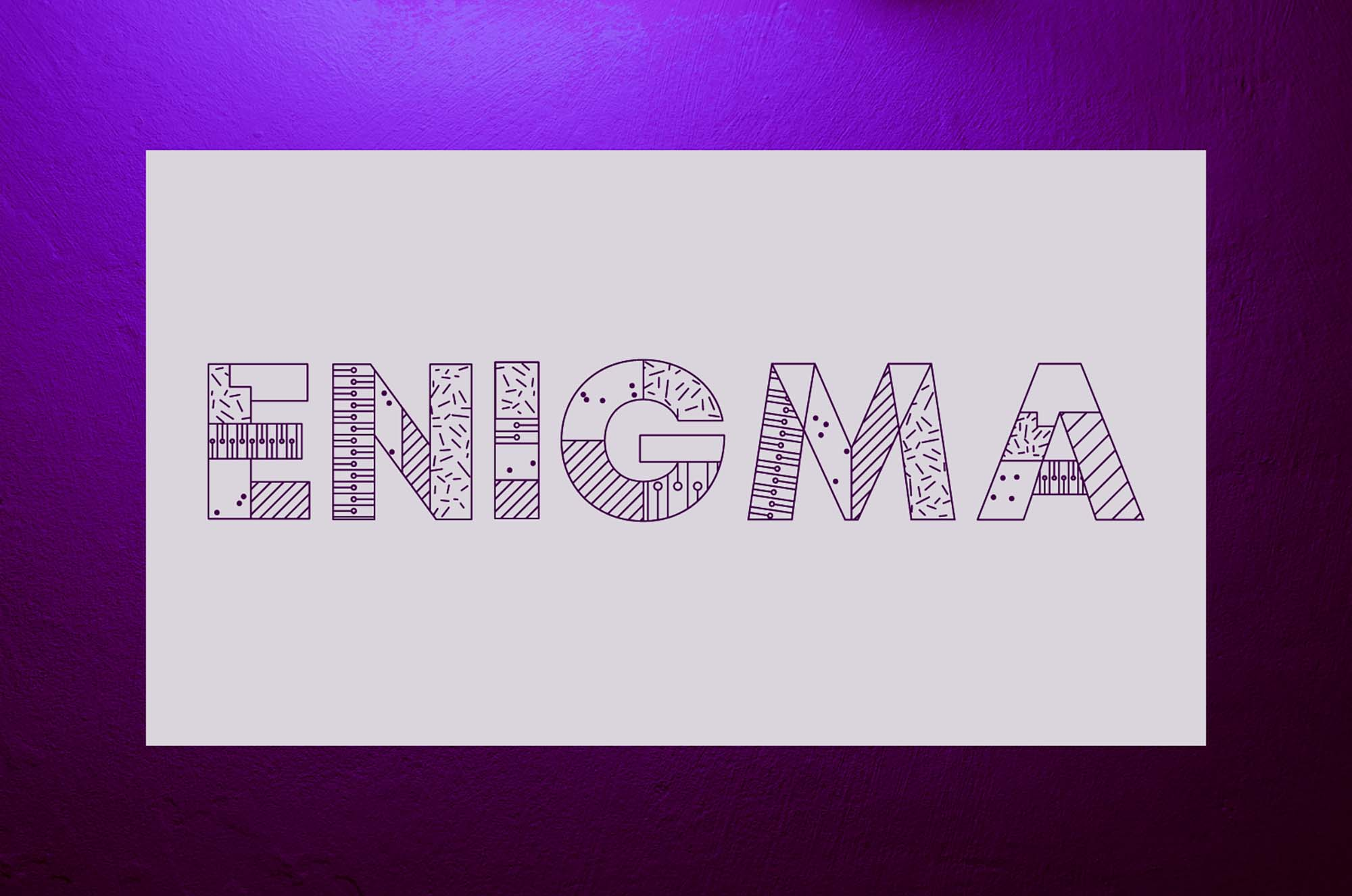 Enigma Display Font