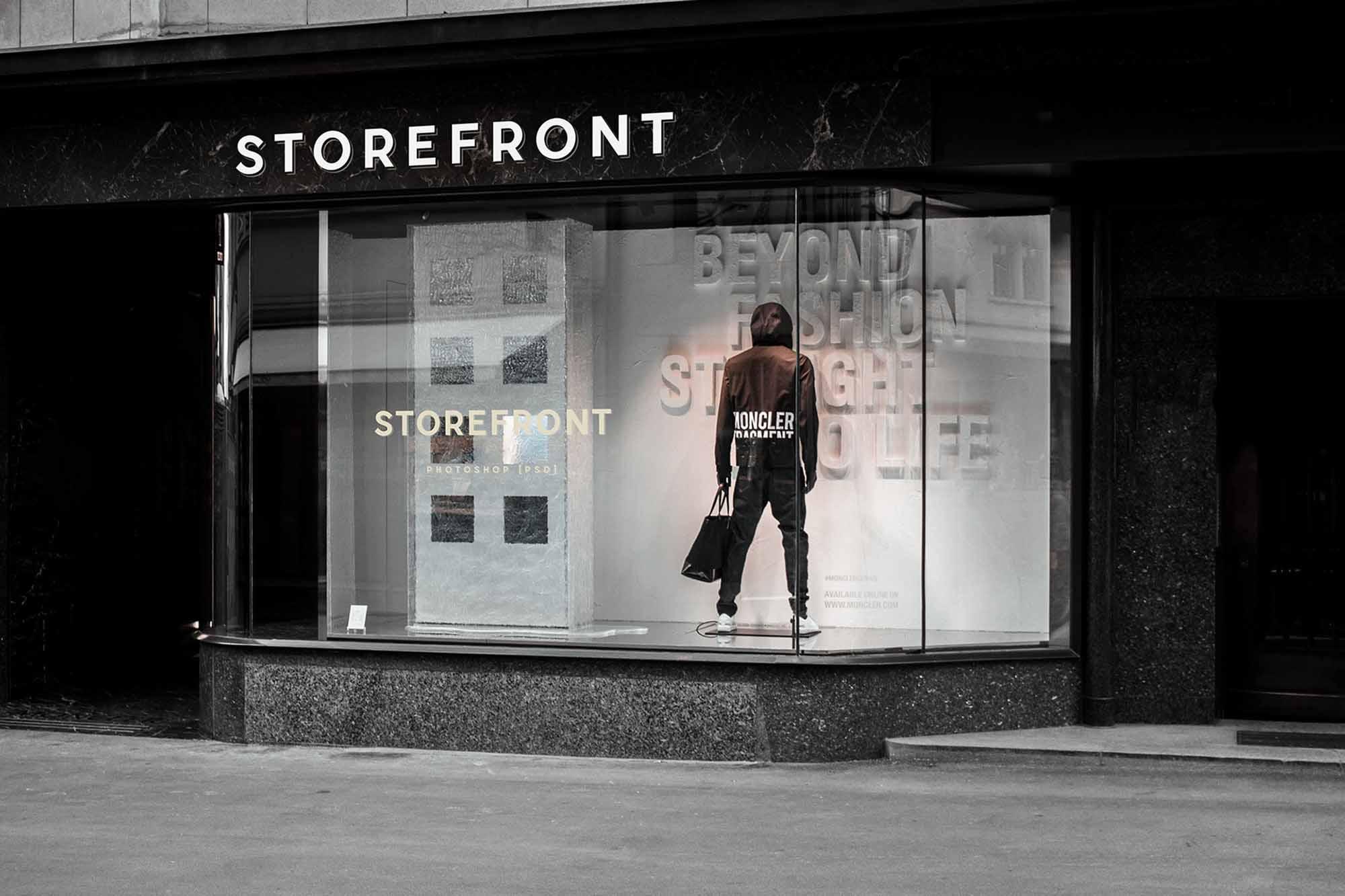 Fashion Storefront Mockup