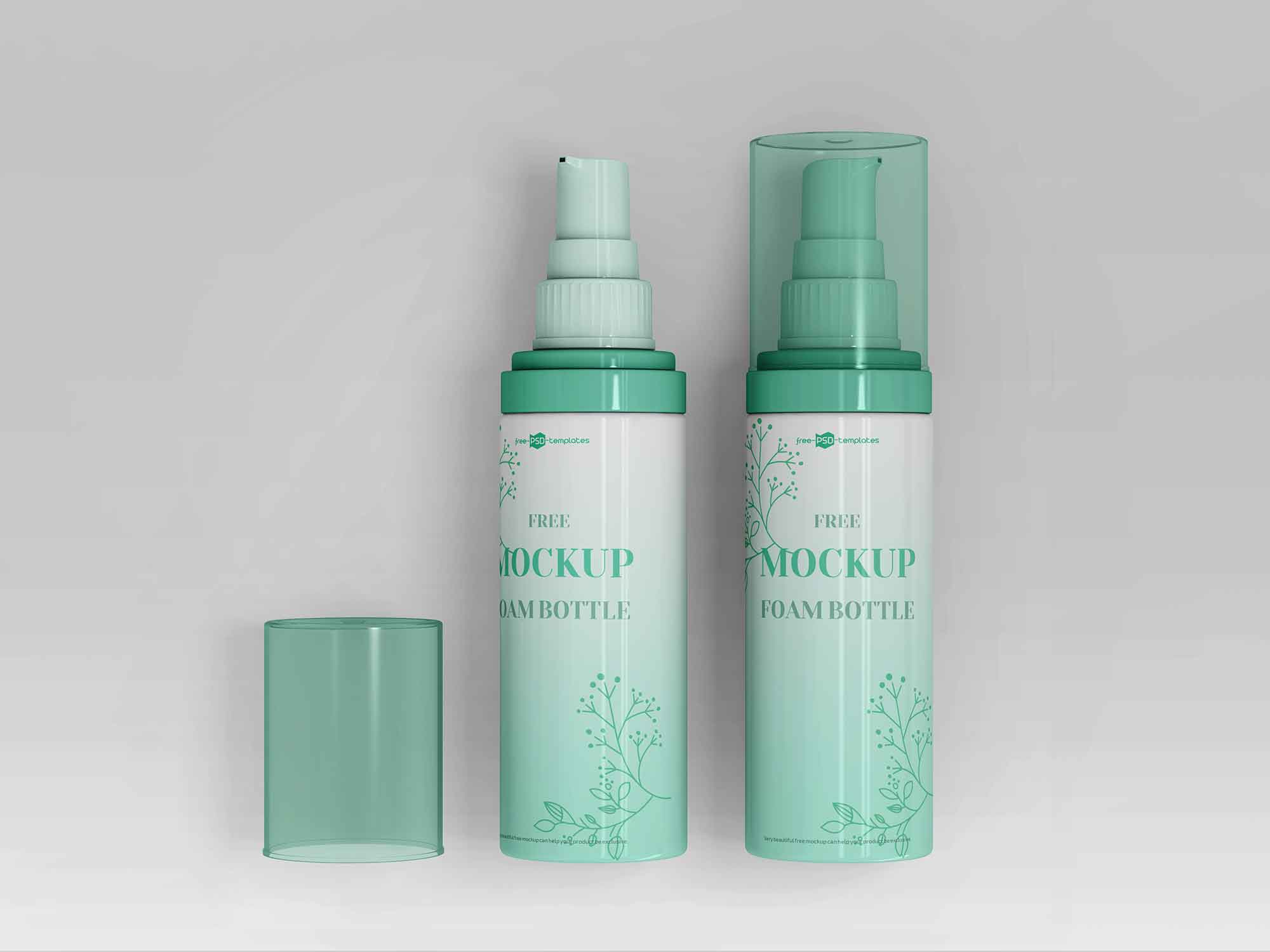 Foam Bottle Mockup 2