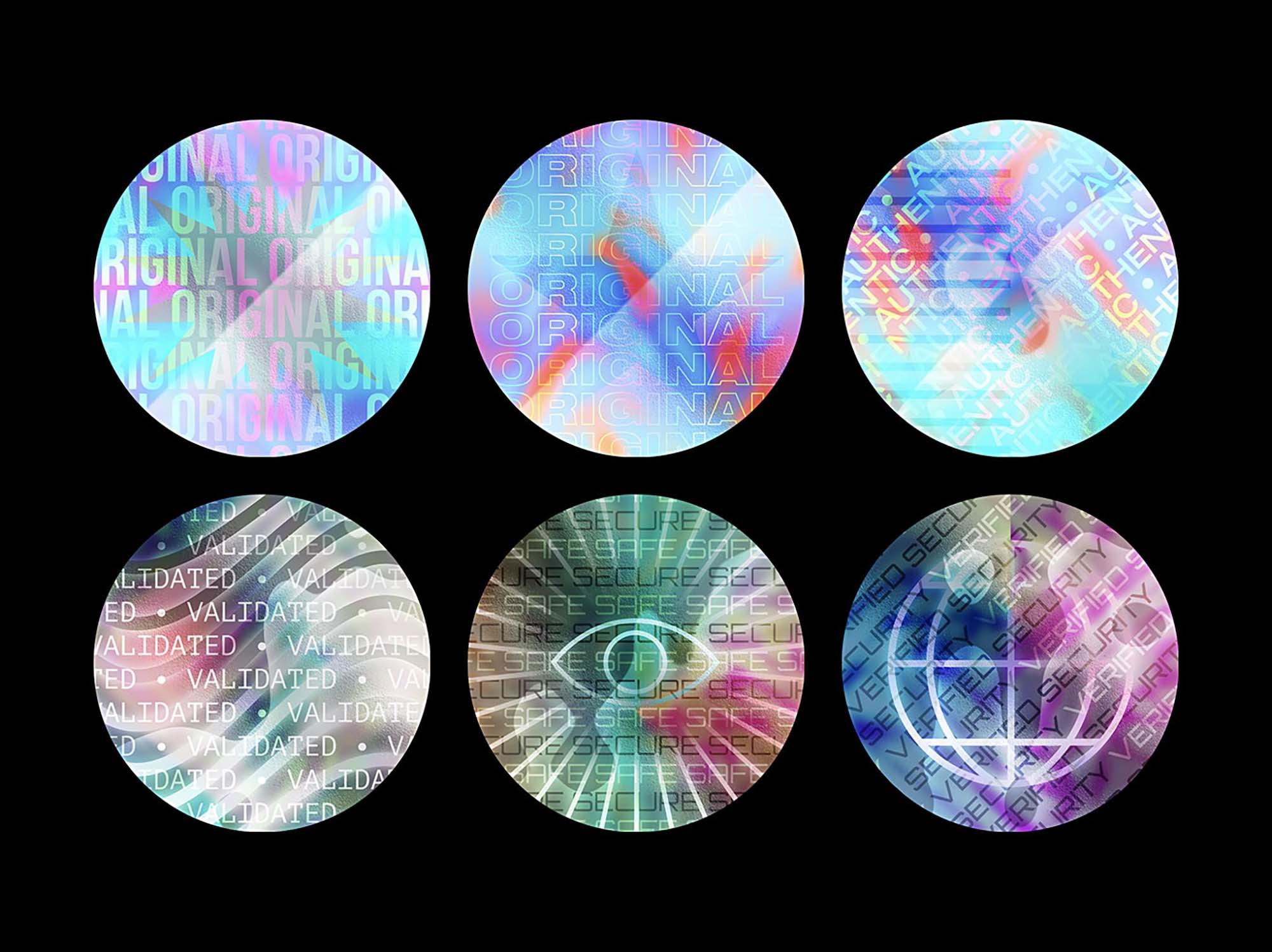 Holographic Sticker Graphics 1