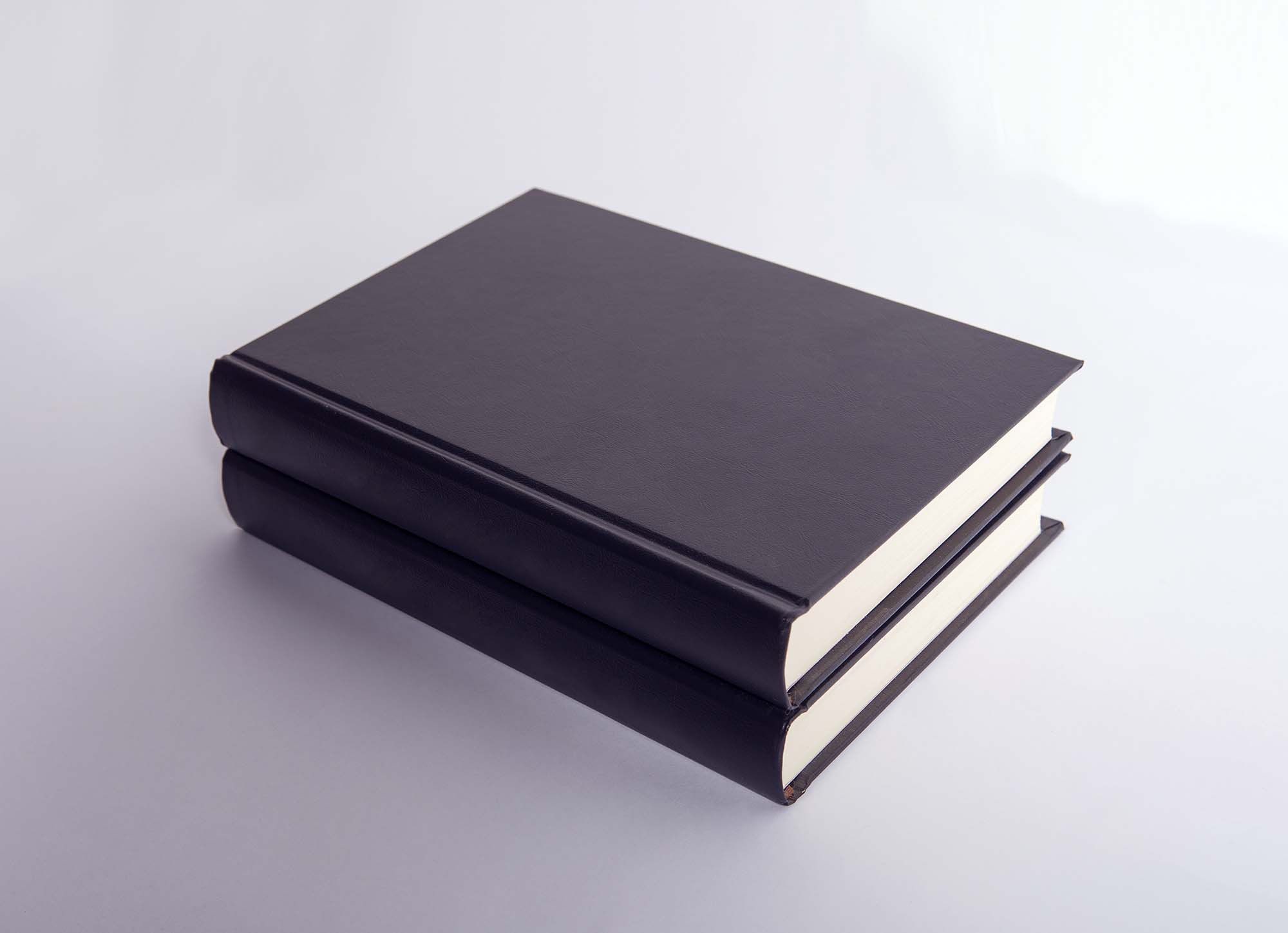 Leather Book Cover Mockup 2