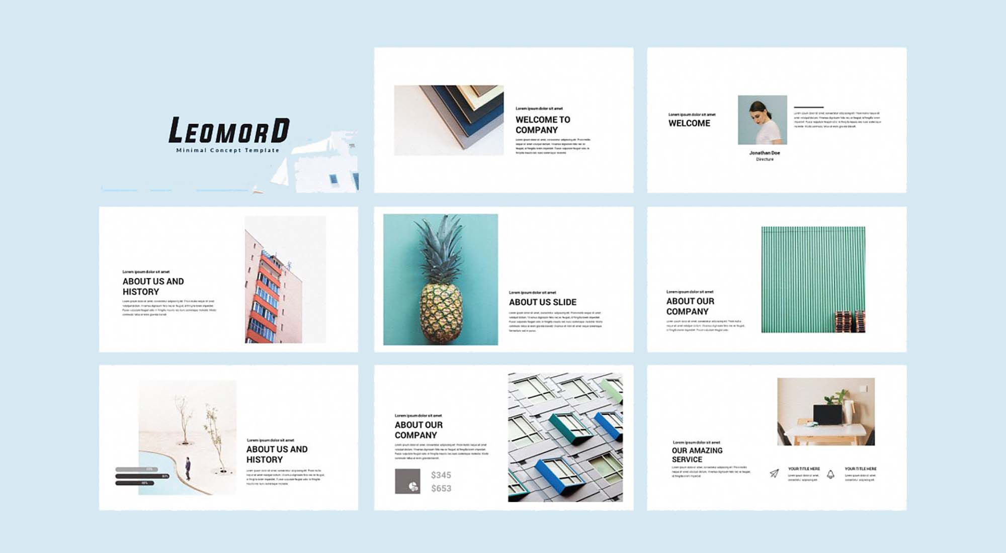 Leomord Powerpoint Presentation Template 1