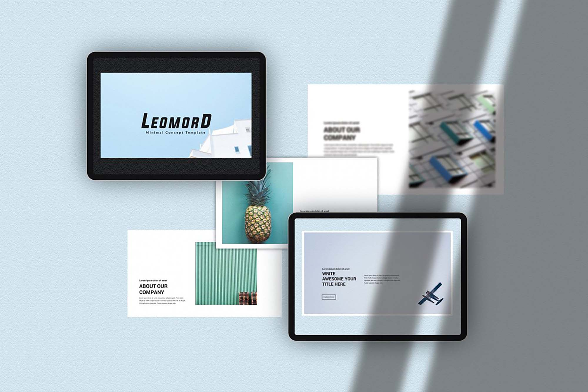 Leomord Powerpoint Presentation Template