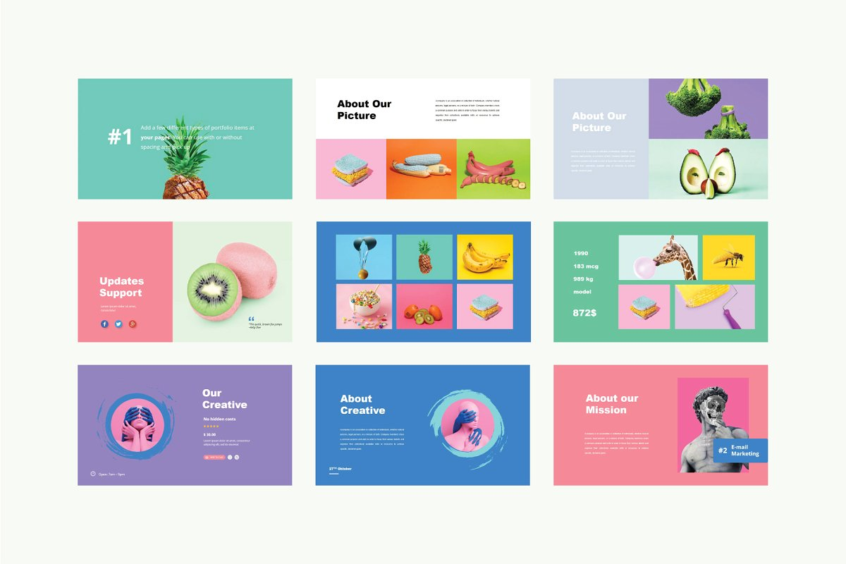 Luvy PowerPoint Template 5