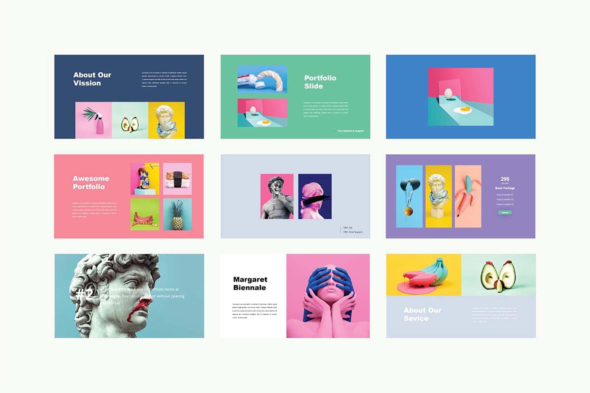 Luvy PowerPoint Template 6