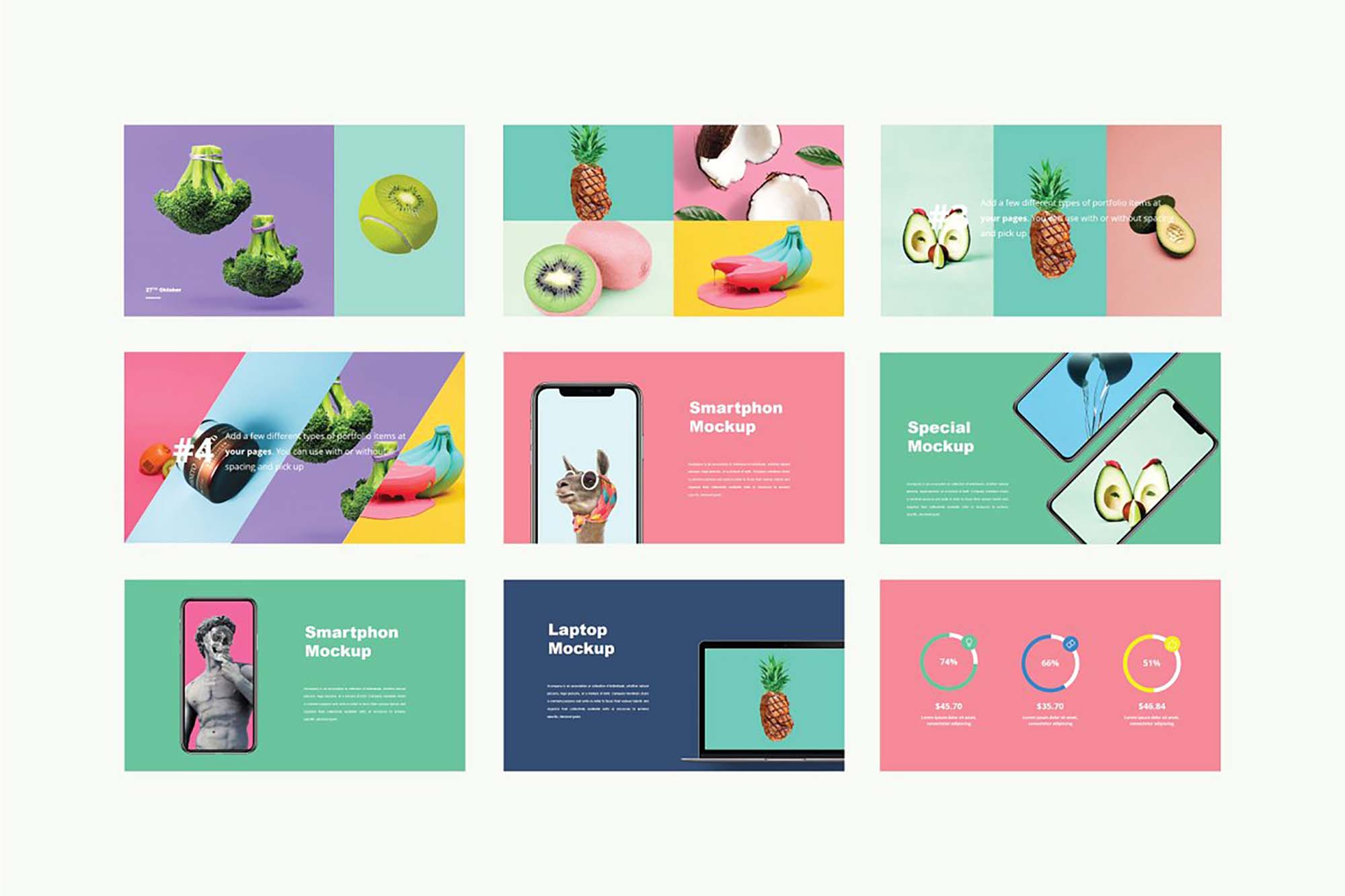 Luvy PowerPoint Template 7