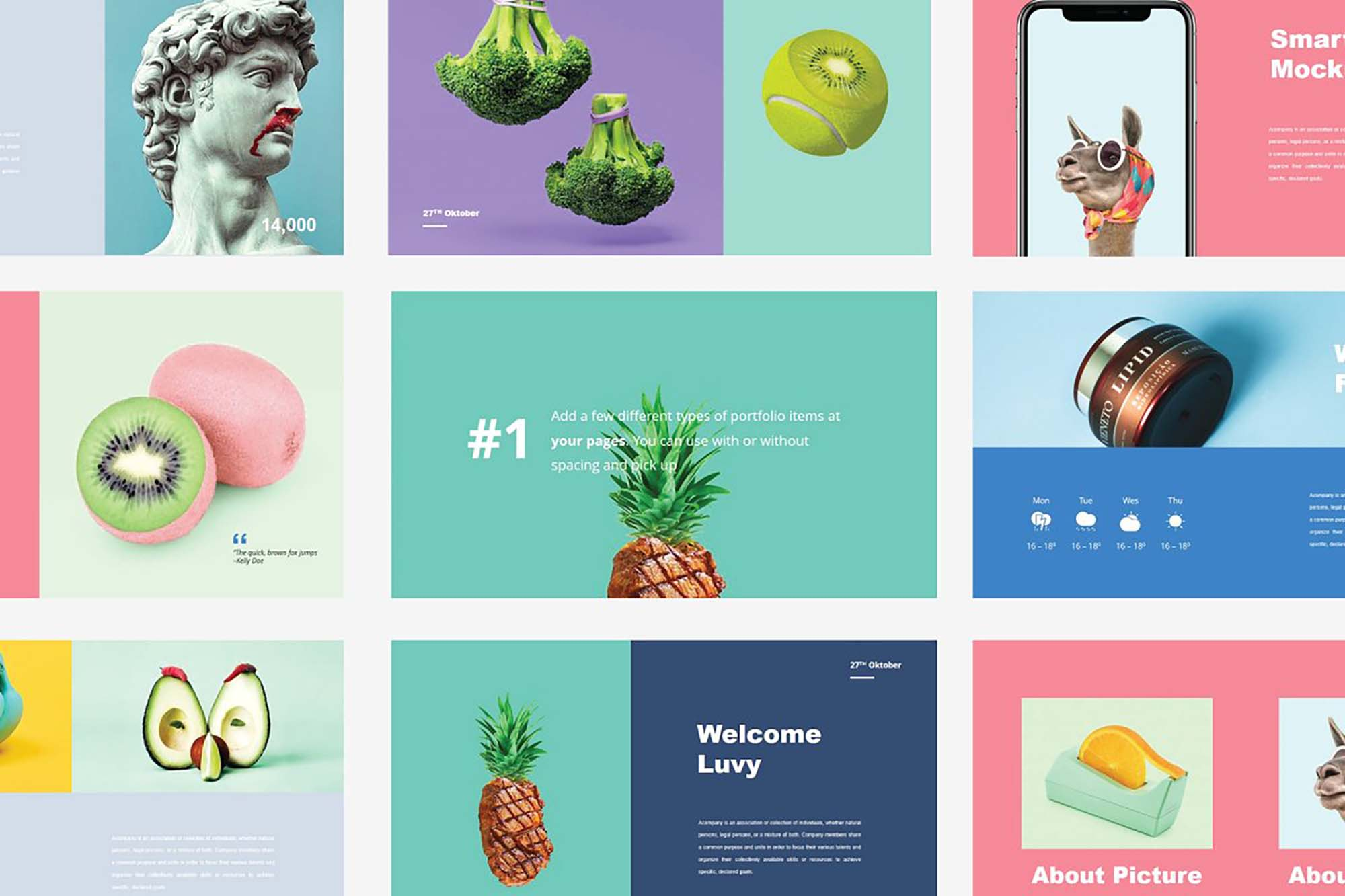 Luvy PowerPoint Template