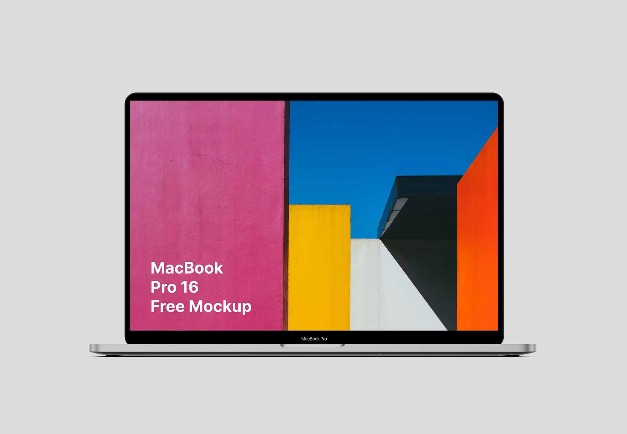 MacBook Pro 16 Mockup