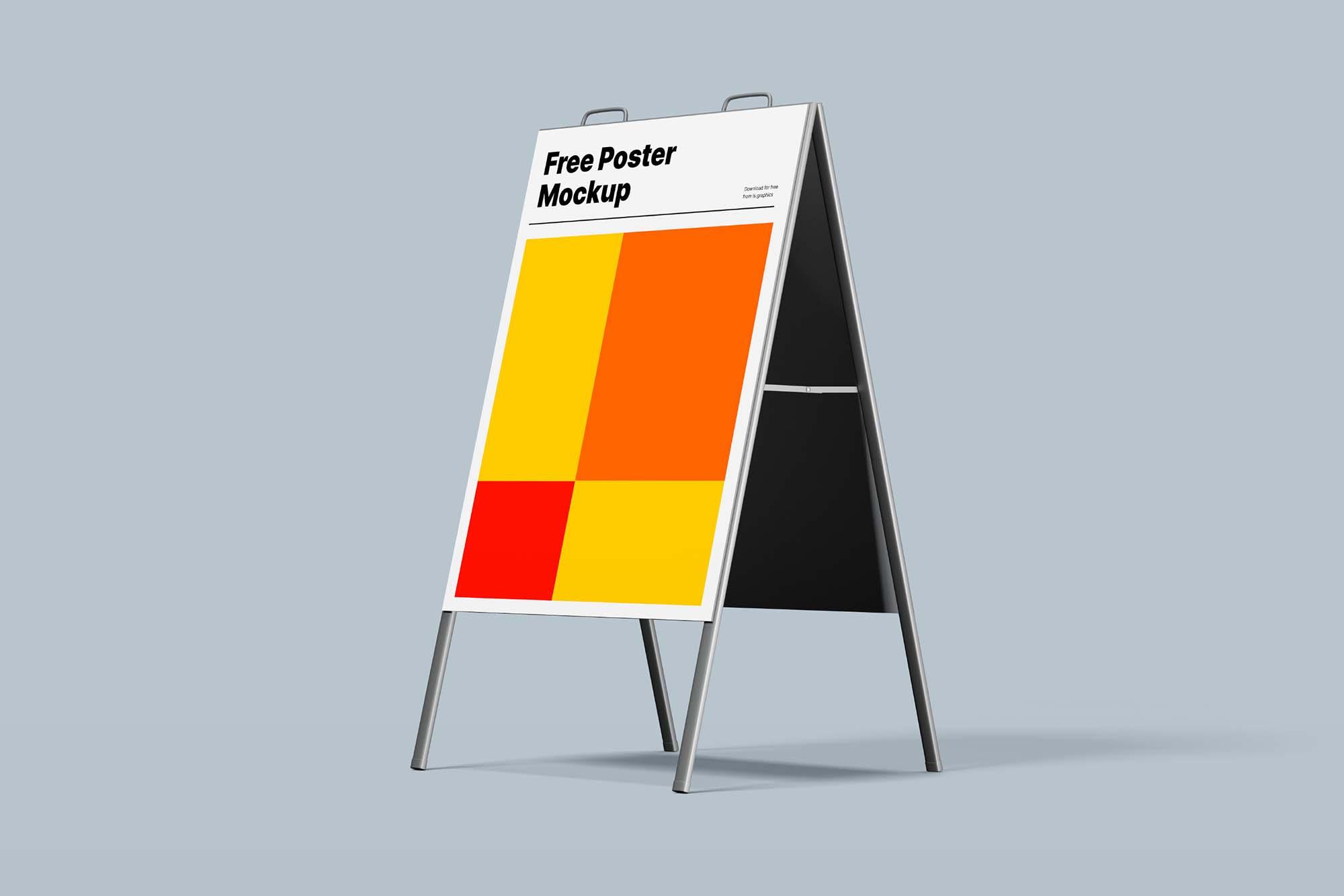 Pillar Poster Mockup