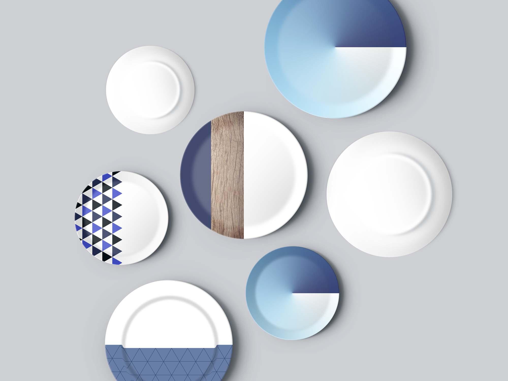 Plates Mockup