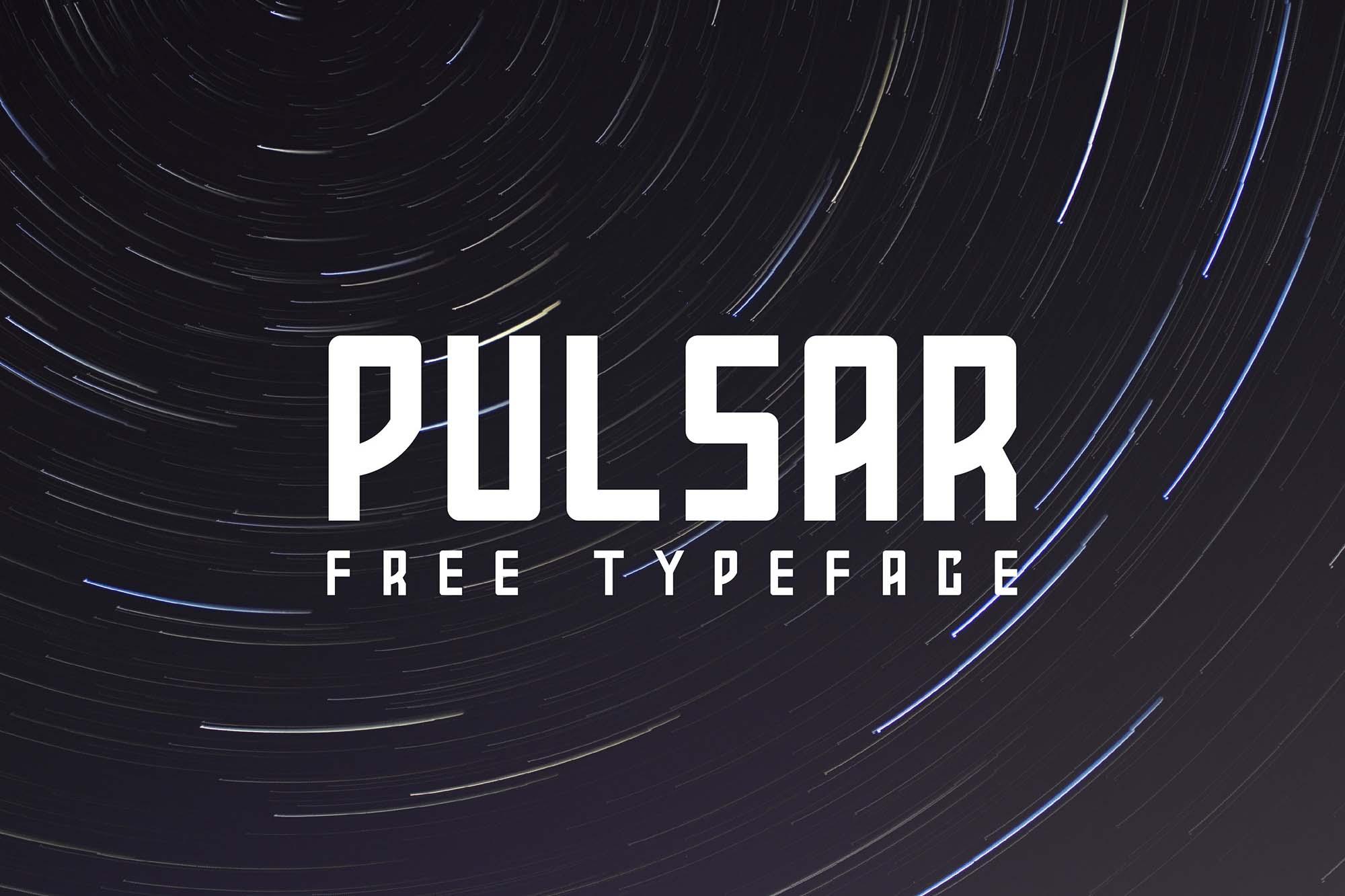 Pulsar Typeface