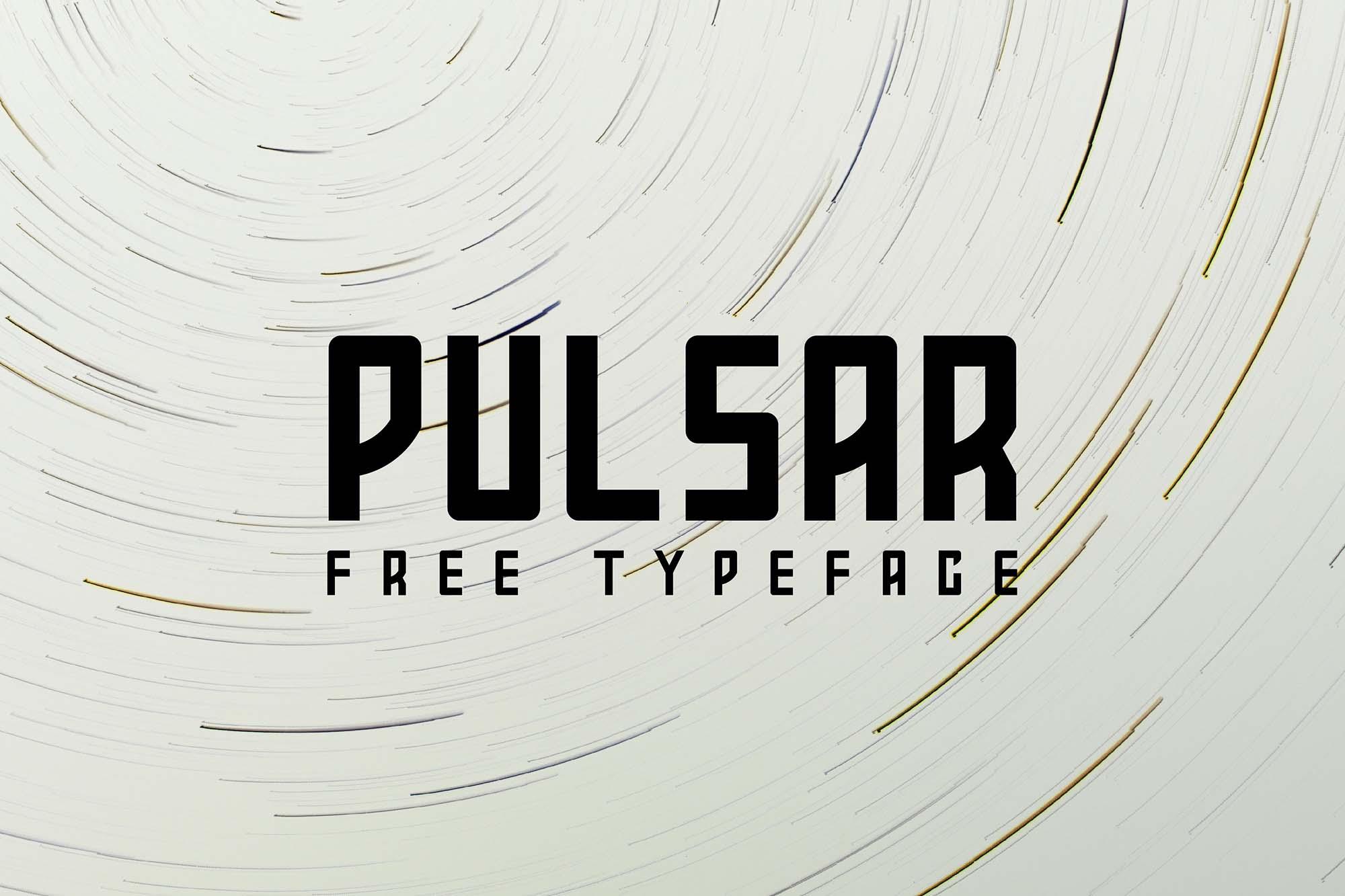 Pulsar Typeface 2