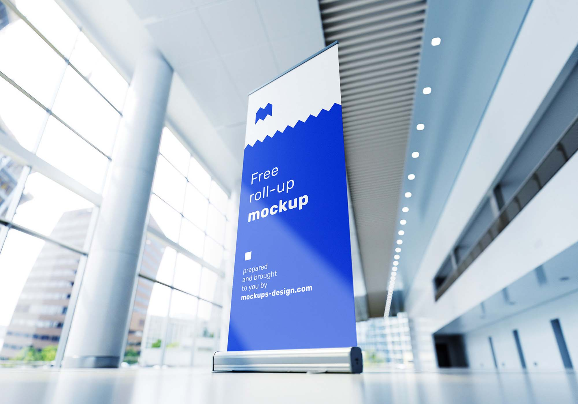 Rollup in Exhibition Mockup 1
