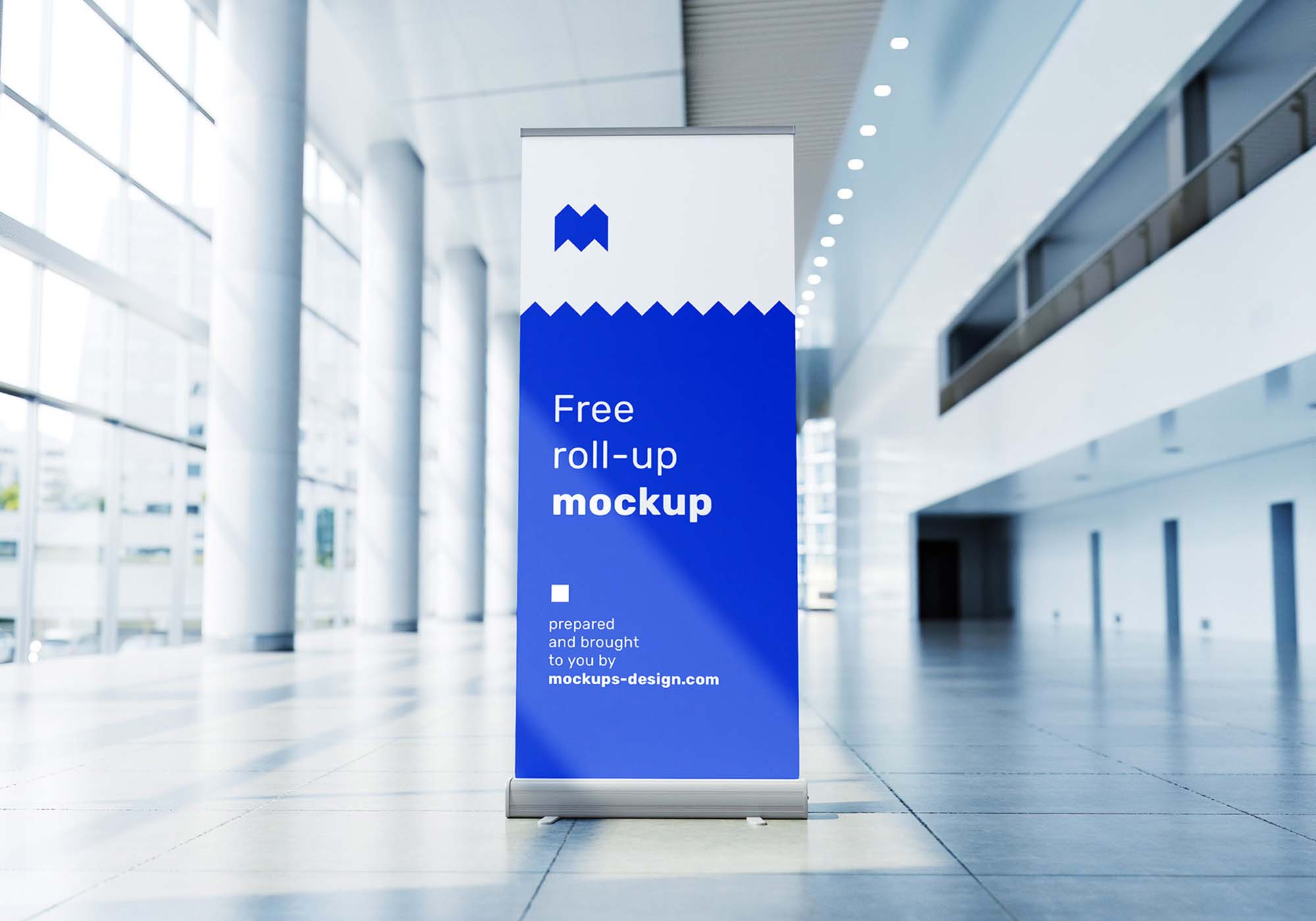 Rollup in Exhibition Mockup 2
