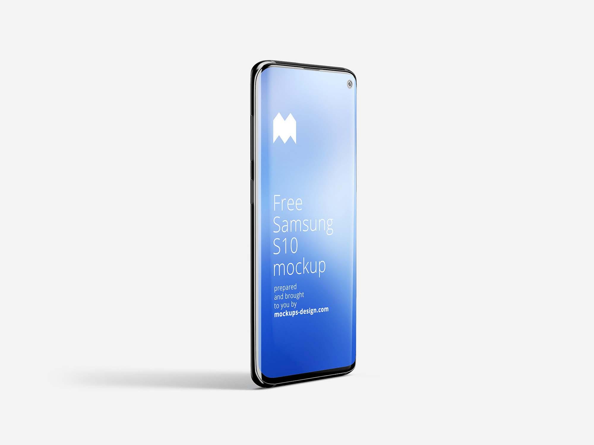 Samsung Galaxy S10 mockup 1