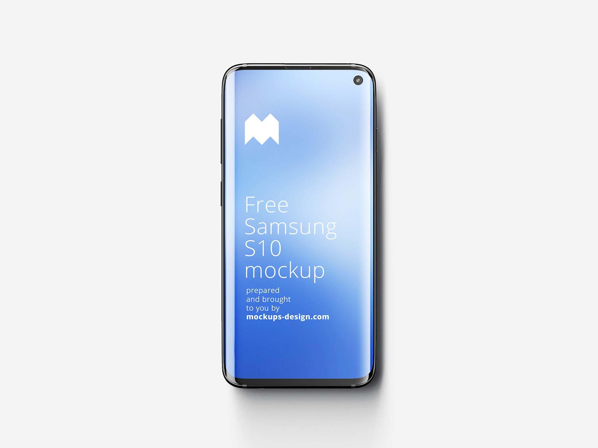 Samsung Galaxy S10 mockup 3