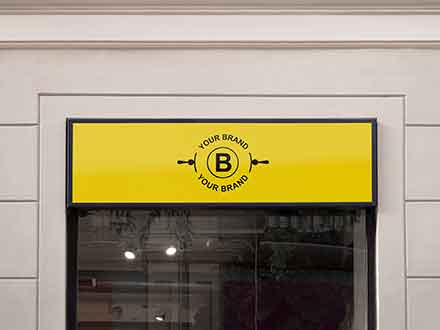Storefront Logo Mockup