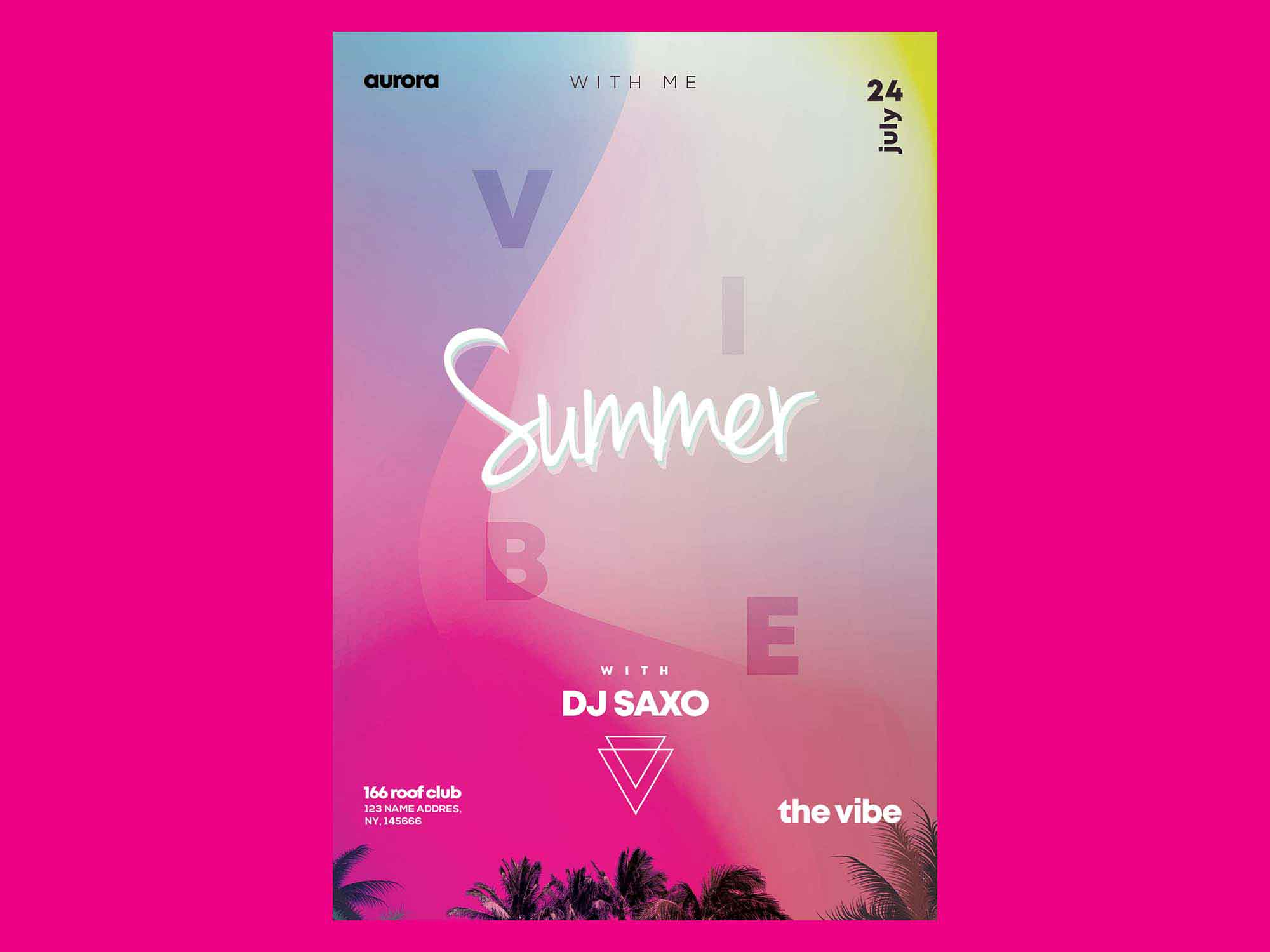 Summer Vivid Flyer Template