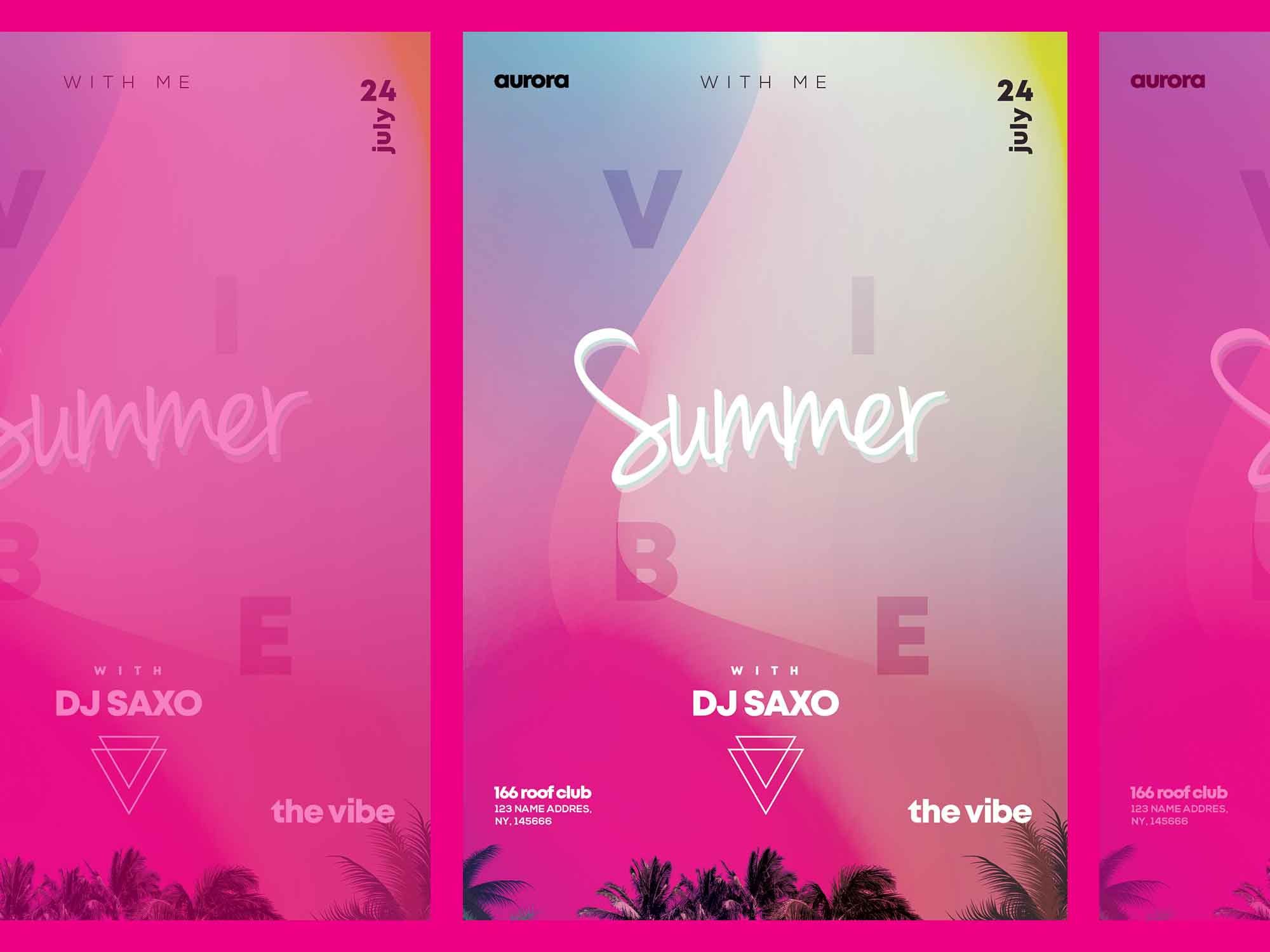 Summer Vivid Flyer Template 2