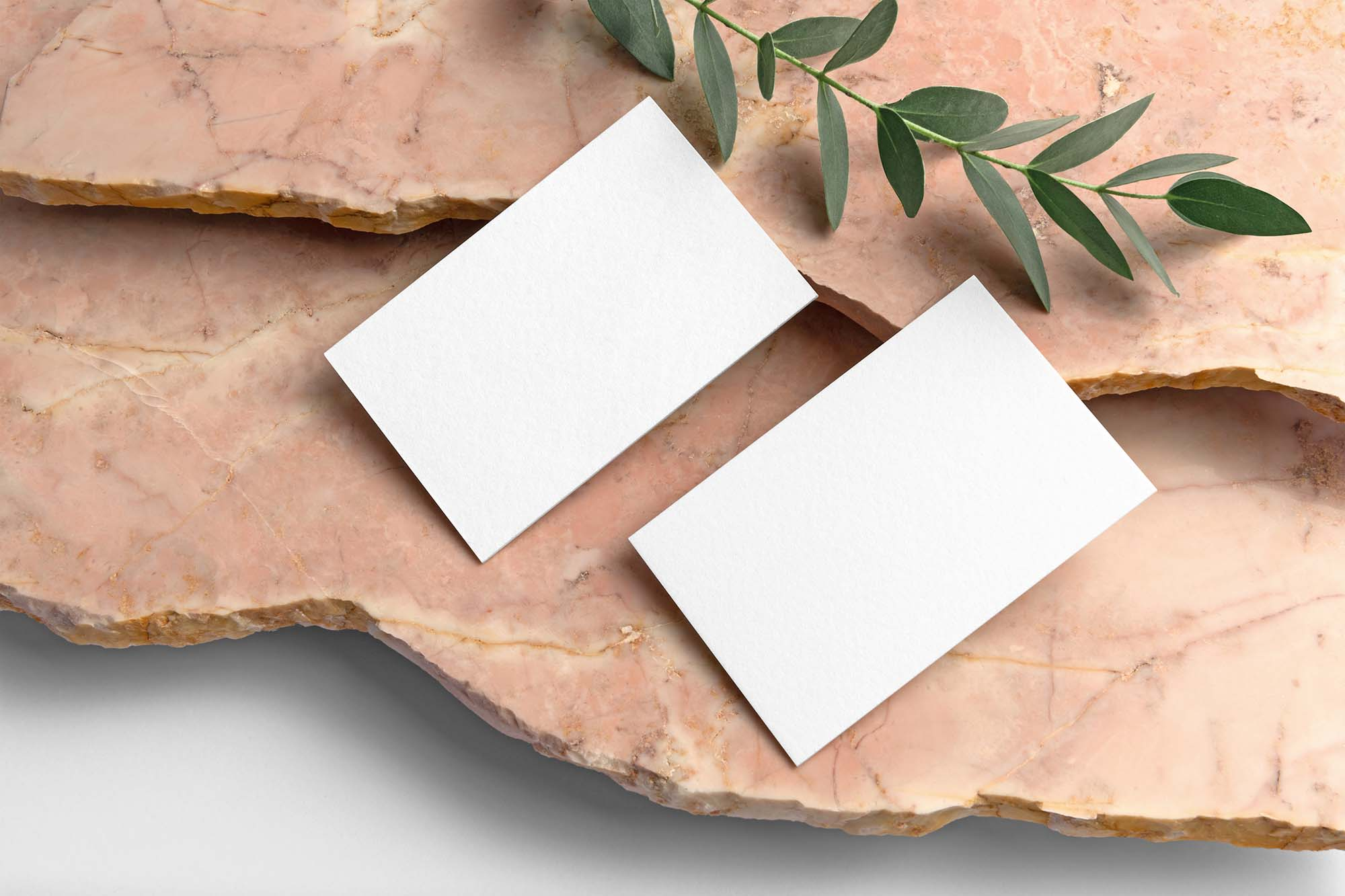 Thick Business Cards Mockup 2