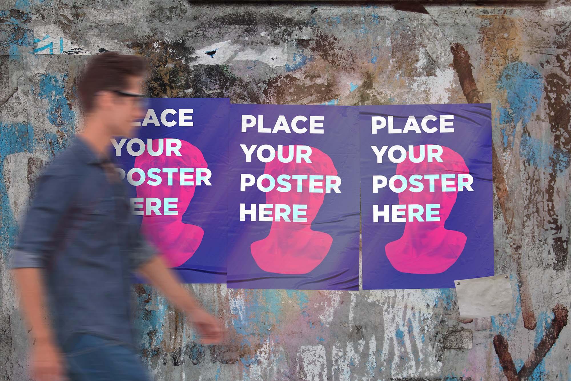 Urban Poster Mockup