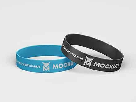 Wristbands Mockup